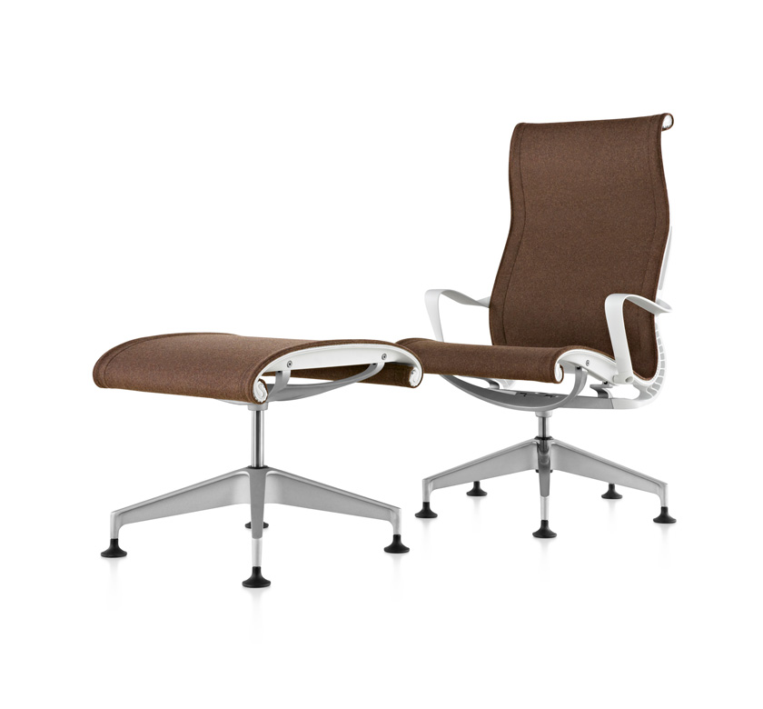 Setu Lounge Chair and Ottoman Ergodot