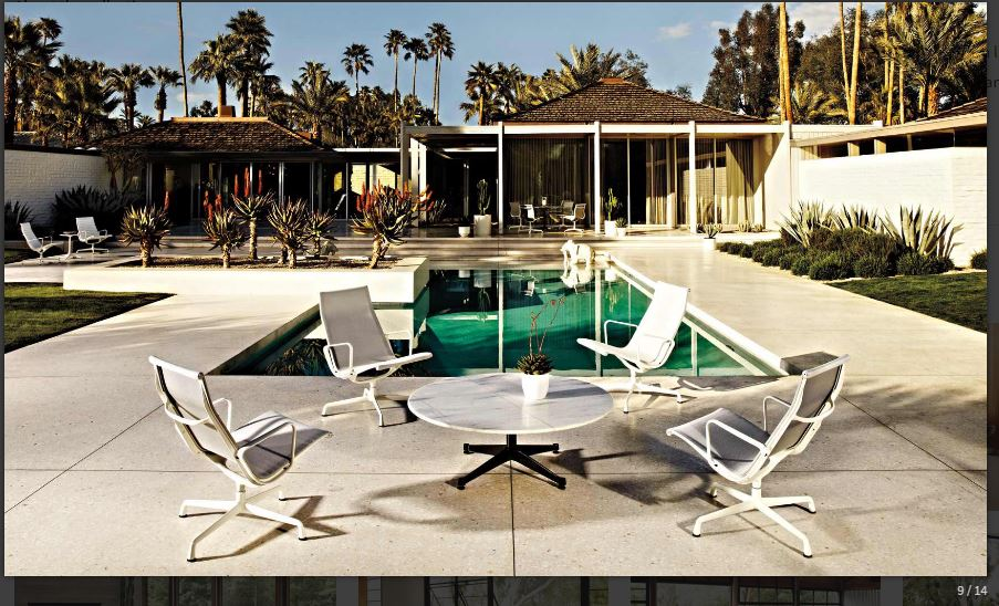 Capture - Eames Aluminium Group Lounge Chair - Outdoor