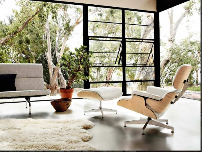 Capture-Eames Lounge Chair and Ottoman